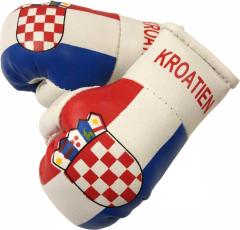 Croatia Mini Boxing Gloves