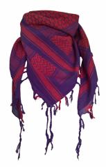 Palästinensertuch Violett Rot