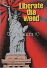 Schlüsselanhänger Liberate The Weed