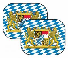 Auto-Sonnenschutz Bayern Wappen