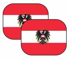 Auto-Sonnenschutz Österreich Wappen