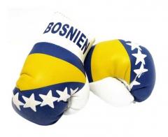 Bosnia Mini Boxing Gloves