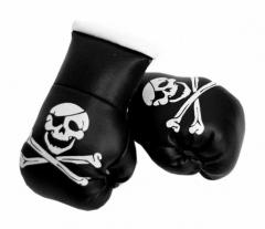 Totenkopf Mini Boxhandschuhe