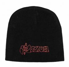 Saxon - Logo Beanie Mütze