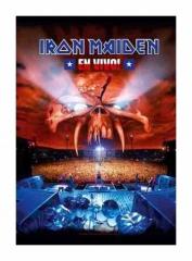 Posterfahne Iron Maiden En Vivo!