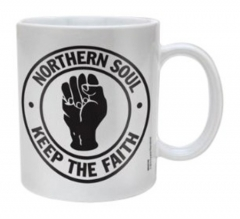 Northern Soul Logo Kaffeebecher