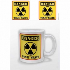 Danger Toxic Waste Kaffeebecher