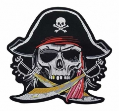 Aufnäher - Piraten Totenkopf