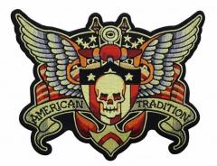 Aufnäher - Totenkopf American