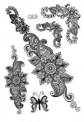 Orient Tattoo  Schwarz