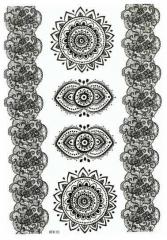 Tattoo Set in Schwarz