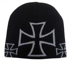 Beanie - Graues Eisernes Kreuz