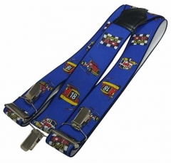 Blaue Hosenträger Supertruck