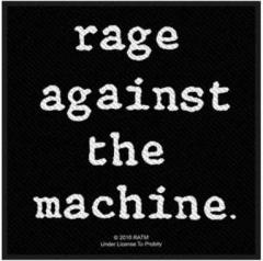 Aufnäher Rage Against the machine
