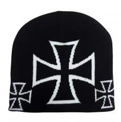 Beanie - Eisernes Kreuz Schwarz
