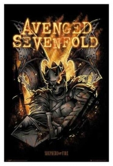 Maxi Poster Avenged Sevenfold Shepherd Of Fire