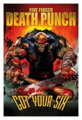 Maxi Poster Five Finger Death Punch Got Your Six