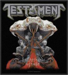 Aufnäher Testament Brotherhood Of The Snake