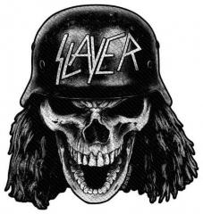 Aufnäher Slayer Wehrmacht Skull Cut Out