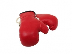 Rote Mini Boxhandschuhe