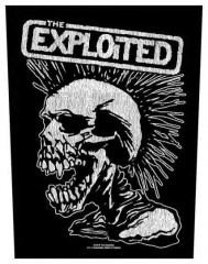 The Exploited Vintage Skull