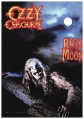 Posterfahne Ozzy Osbourne Bark at the Moon
