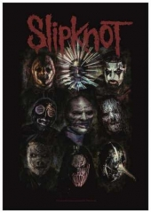 Posterfahne Slipknot Oxidized