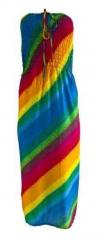 Boho Regenbogen Kleid