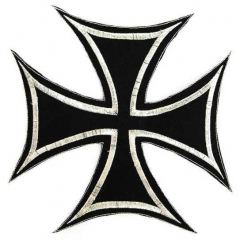 Iron Cross Embroidered Patch