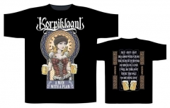 Korpiklaani A Man With A Plan T Shirt