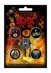 Button Pack - AC/DC Highway To Hell