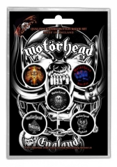 Button Pack - Motörhead England