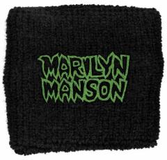 Marilyn Manson Logo Merchandise Schweißband