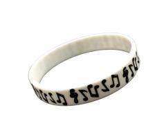 Silikon Armband Musik Symbole