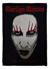 Aufnäher Marilyn Manson Face