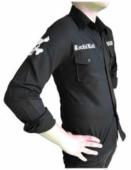Gothic Hemd RocknRoll Schwarz