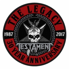 Aufnäher Testament The Leagcy 30 Year Anniversary