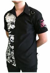 Punk Hemd Totenkopf