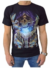 T-Shirt Totenkopf Dark Magic