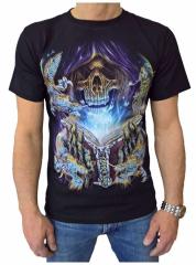 T-Shirt Totenkopf Dark Magic (Glow in the Dark)