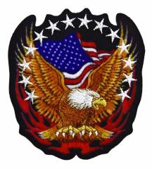 Aufnäher USA Adler
