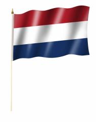 Niederlande Stockfahne