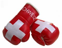 Schweiz Mini Boxhandschuhe