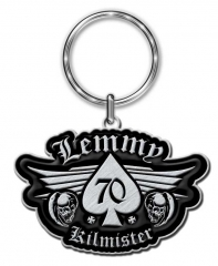 Lemmy 70 Keyring Pendant