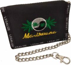 Geldbeutel Marihuana