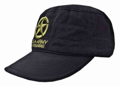 Black US Army Field Cap with Star