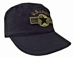 Schwarze US Militär Kappe