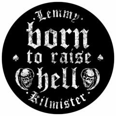 Rückenaufnäher Lemmy Born to raise Hell