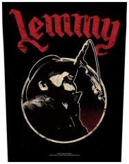 Rückenaufnäher Lemmy Microphone
