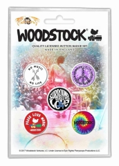 Button Pack - Woodstock Surround Yourself With Love